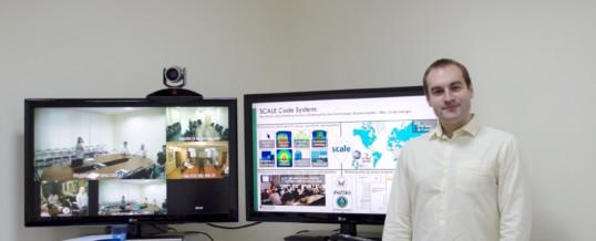 Молодой специалист Радиевого института провел семинар для предприятий научного дивизиона по SCALE
